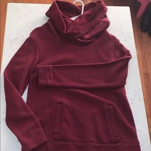 Maroon Sweater from J. Crew